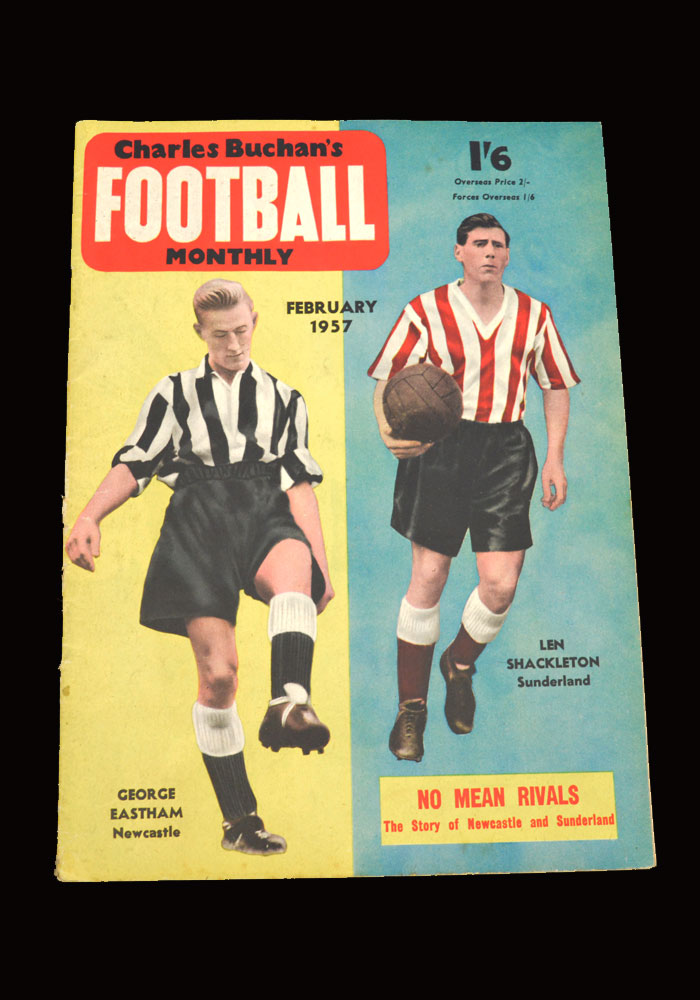 Buchan's Football Monthly - February 1957