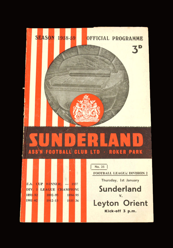 Sunderland v Leyton Orient 01.01.1959