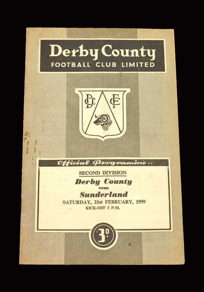Sunderland v Derby 21.02.1959