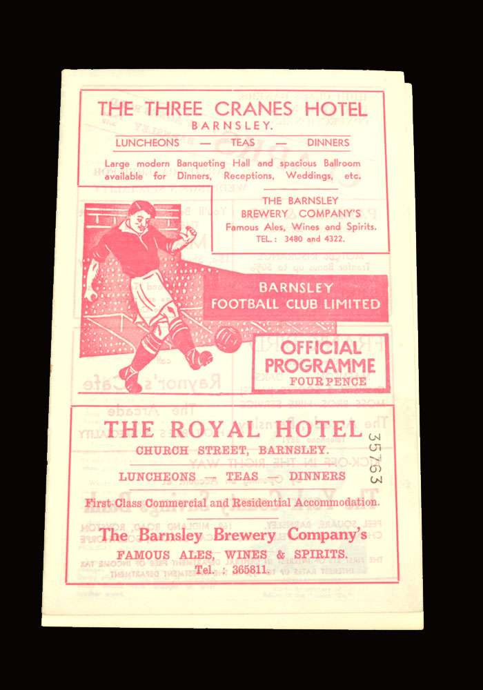 Sunderland v Barnsley 04.04.1959