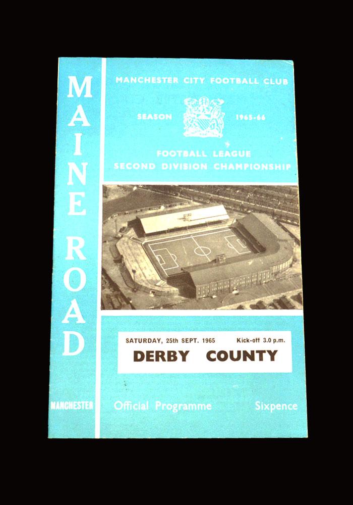 Man City v Derby 25.09.1965