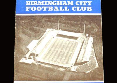 Man City v Birmingham 04.12.1965