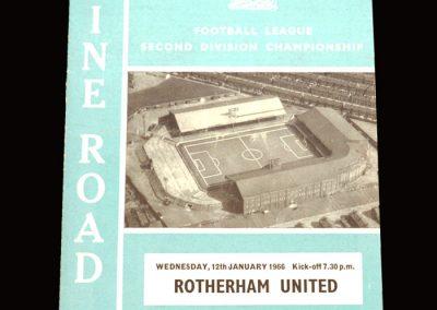 Man City v Rotherham 12.01.1966