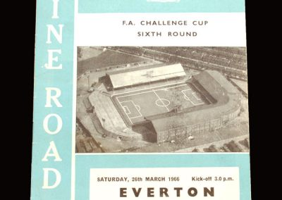 Man City v Everton 26.03.1966 - FA Cup 6th Round