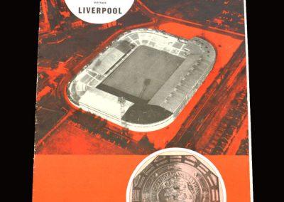 Man Utd v Liverpool 14.08.1965 - FA Charity Shield