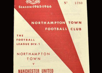 Man Utd v Northampton 28.08.1965