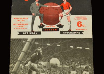 Man Utd v Notts Forest 01.09.1965