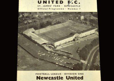 Man Utd v Newcastle 08.09.1965