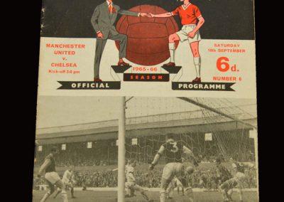 Man Utd v Chelsea 18.09.1965