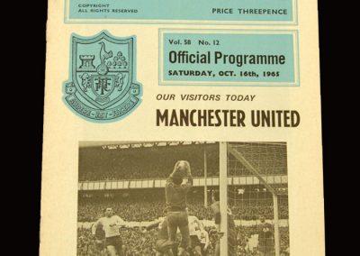 Man Utd v Spurs 16.10.1965