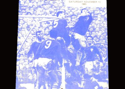 Man City v Leicester 13.11.1965