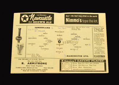 Man Utd v Sunderland 11.12.1965
