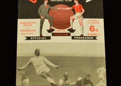 Man Utd v Sunderland 08.01.1966