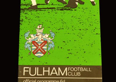 Man Utd v Fulham 15.01.1966