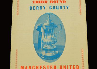Man Utd v Derby 22.01.1966 - FA Cup 3rd Round (pirate)
