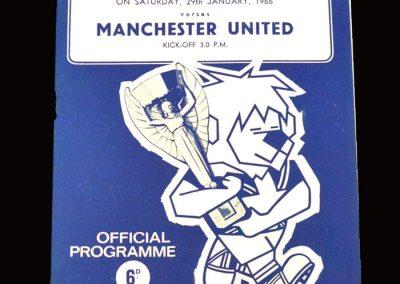 Man Utd v Sheff Wed 29.01.1966