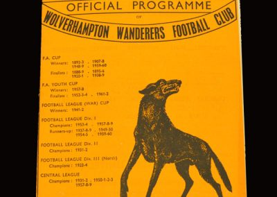 Man Utd v Wolves 05.03.1966 - FA Cup 5th Round