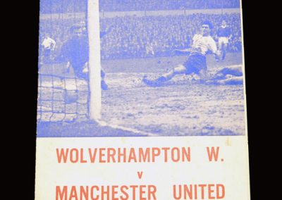 Man Utd v Wolves 05.03.1966 - FA Cup 5th Round (pirate)