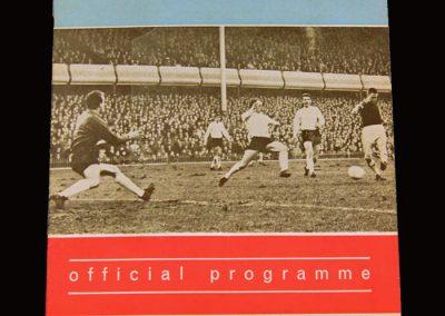 Man Utd v Aston Villa 06.04.1966