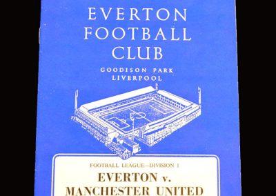 Man Utd v Everton 25.04.1966