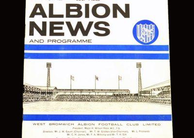 Man Utd v West Brom 04.05.1966