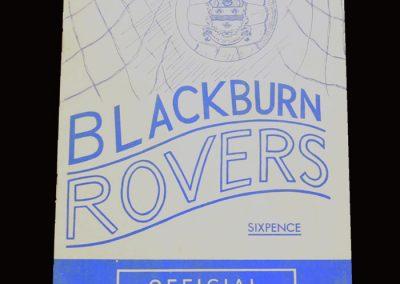 Man Utd v Blackburn 07.05.1966