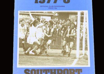 Wimbledon v Southport 03.09.1977