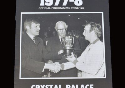 Wimbledon v Crystal Palace 06.09.1977 - Ian Cooke Testimonial