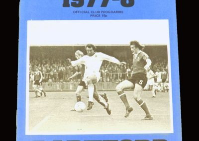 Wimbledon v Dartford 25.10.1977 - Southend League Cup