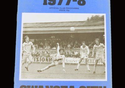 Wimbledon v Swansea 05.11.1977