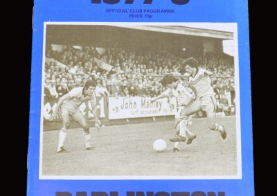 Wimbledon v Darlington 07.11.1977