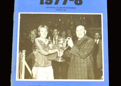 Wimbledon v York 19.11.1977