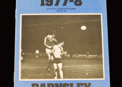 Wimbledon v Barnsley 10.12.1977