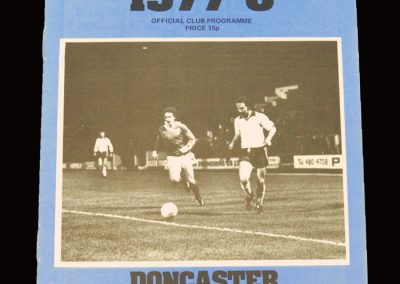 Wimbledon v Doncaster 28.12.1977