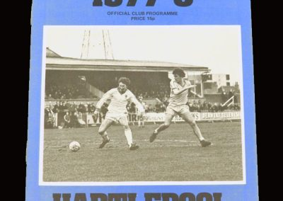 Wimbledon v Hartlepool 20.02.1978