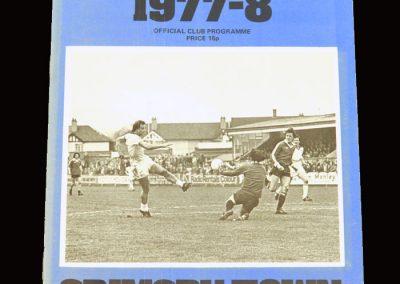 Wimbledon v Grimsby 04.04.1978