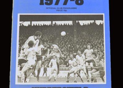 Wimbledon v Huddersfield 08.04.1978