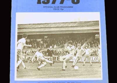 Wimbledon v Stockport 22.04.1978