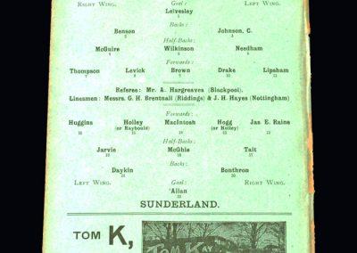 Sheff Utd v Sunderland 26.10.1907