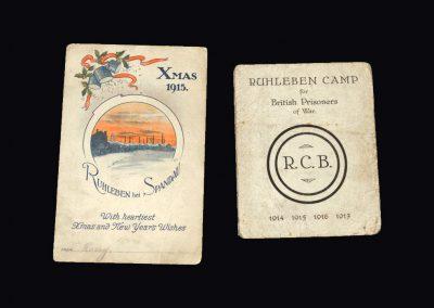 Ruhleben Camp Documents