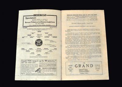 Sunderland v Sheff Wed 26.12.1936