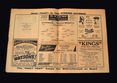 Liverpool v Bolton 23.04.1938