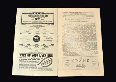 Sunderland v Blackburn 11.02.1939 - FA Cup 5th Round 1-1