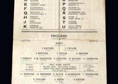 England Army v Scotland Army 04.04.1942