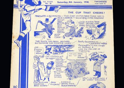 Everton v Chelsea 08.01.1938 - FA Cup 3rd Round