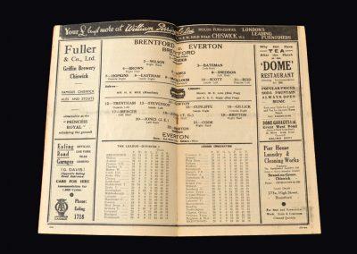 Everton v Brentford 26.01.1938