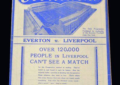 Everton v Liverpool 16.02.1938