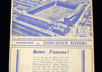 Everton v Doncaster 21.01.1939