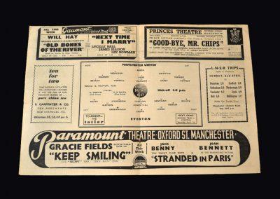 Everton v Man Utd 29.03.1939