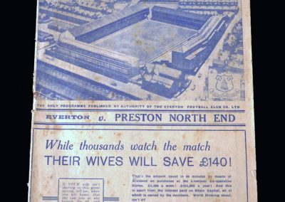 Everton v Preston 15.04.1939